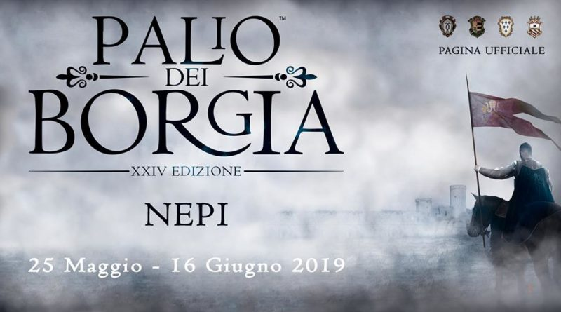 Nepi, Palio dei Borgia 2019. Programma ufficiale.