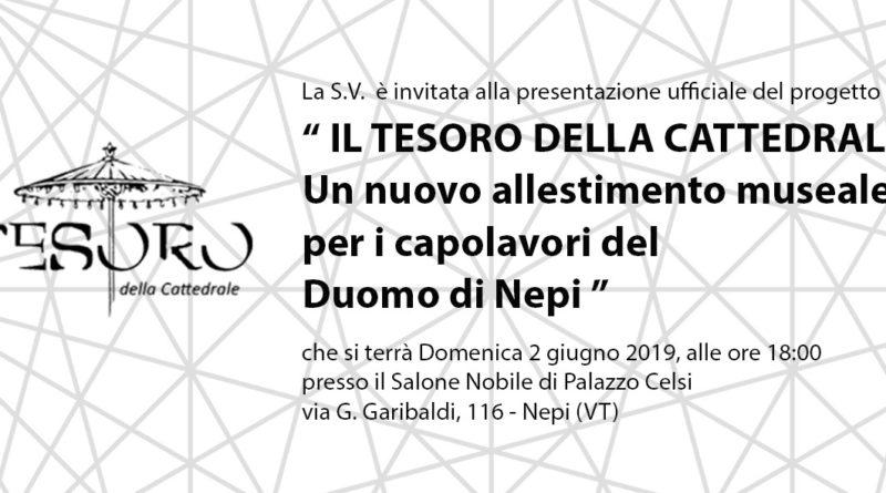 """""""IL TESORO DELLA CATTEDRALE"""" un nuovo allestimento museale per i capolavori del duomo di Nepi"""