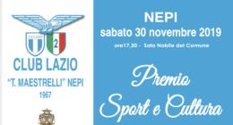 Lazio Club Nepi, sabato il Premio Sport e Cultura: ci saranno Delio Rossi, M. Maestrelli e Cucchi