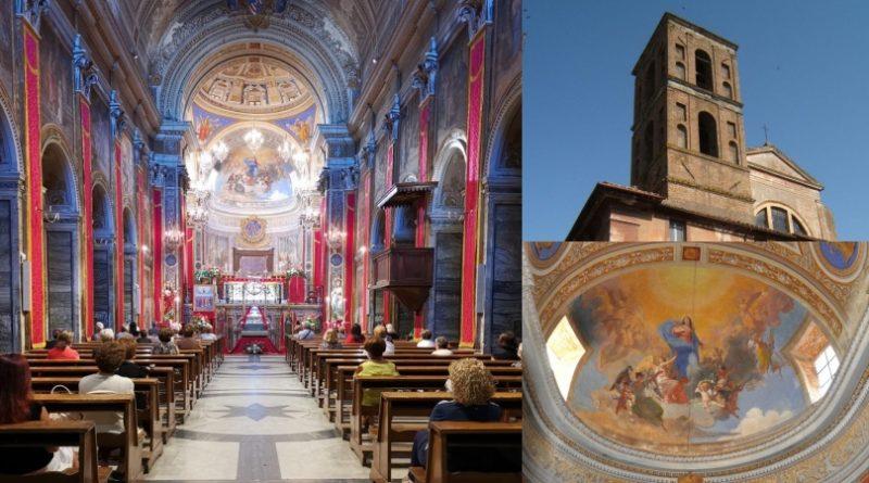 Interno del Duomo di Nepi